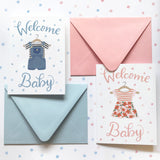 Welcome Baby - Card
