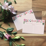 Wild Rose - Recipe Cards [12 pack]