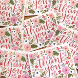 Wild Rose - Thank You Card