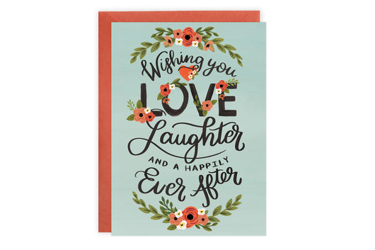 Love Laughter - Wedding + Engagement Card