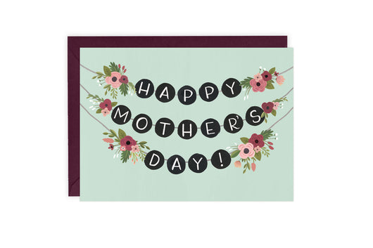 Garland - Mothers Day Card