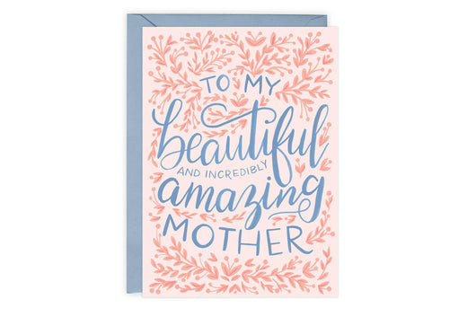 Beautiful and Amazing - Card