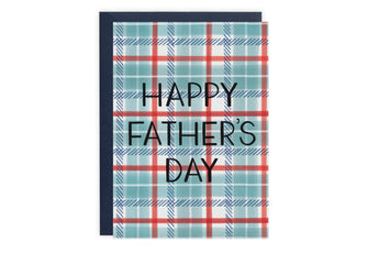 Dad Plaid - Father's Day Card