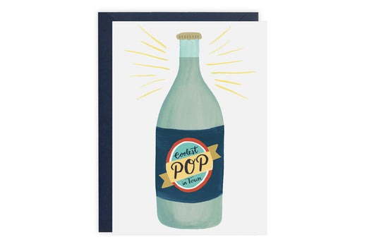 Coolest Pop in Town - Card