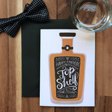Top Shelf - Birthday Card