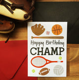 Champ - Birthday Card