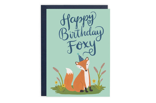 Foxy - Birthday Card