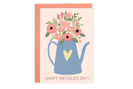 Flower Can - Mother's Day Card