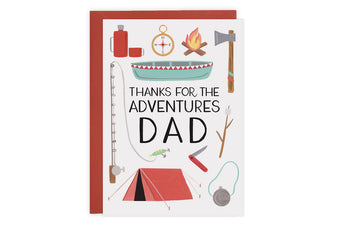 Dad Adventure - Card