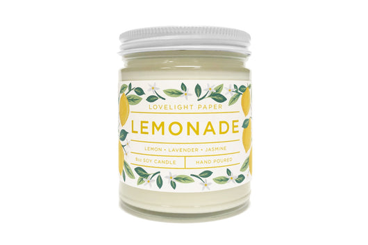 Lemonade - Scented Soy Candle