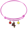 Arizona State Sun Devils Pink NCAA Expandable Wire Bangle Charm Bracelet