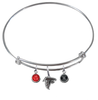 Atlanta Falcons NFL Expandable Wire Bangle Charm Bracelet