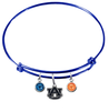 Auburn Tigers Blue NFL Expandable Wire Bangle Charm Bracelet