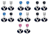 BYU Brighgam Young Cougars NCAA Swarovski Crystal Stud Rhinestone Earrings