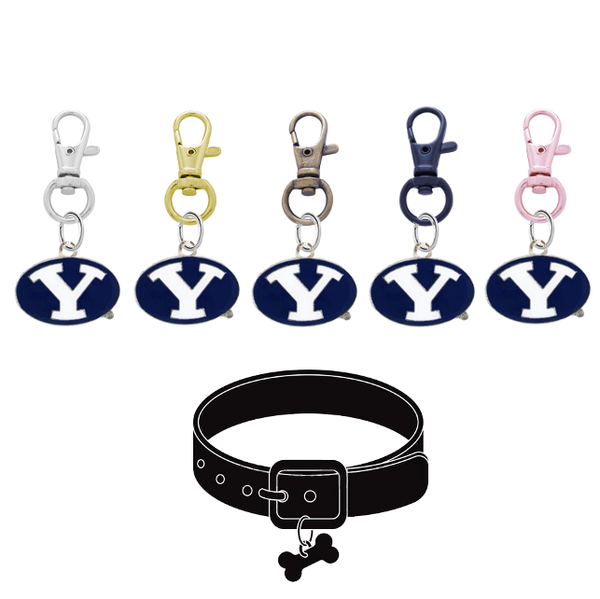 BYU Brigham Young Cougars NCAA Pet Tag Dog Cat Collar Charm