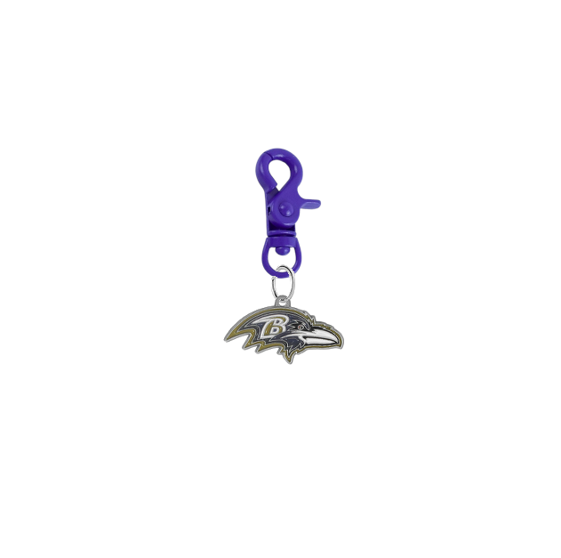 Baltimore Ravens NFL Purple COLOR EDITION Pet Tag Dog Cat Collar Charm