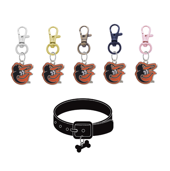 Baltimore Orioles Mascot MLB Pet Tag Dog Cat Collar Charm