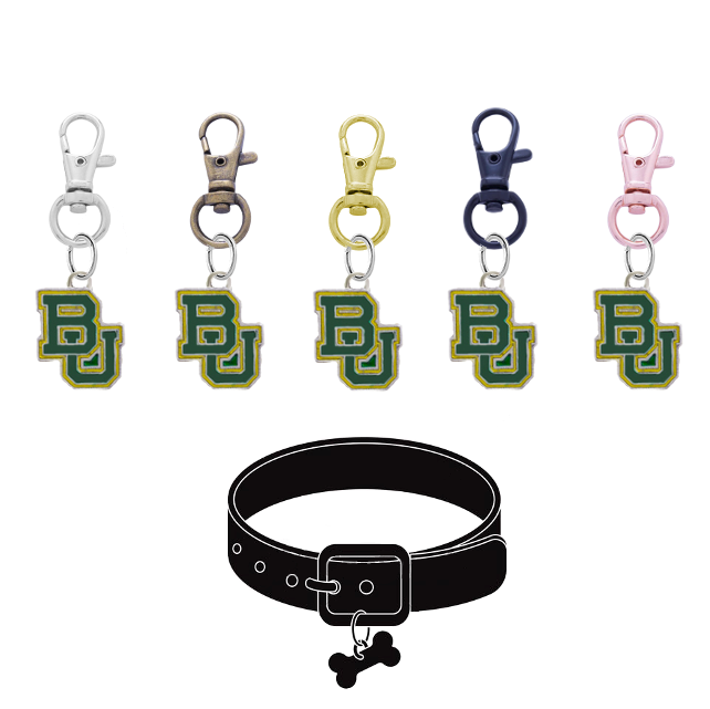 Baylor Bears NCAA Pet Tag Dog Cat Collar Charm