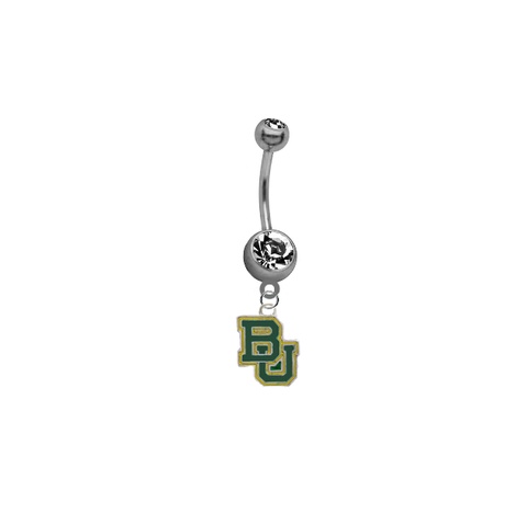 Baylor Bears NCAA College Belly Button Navel Ring