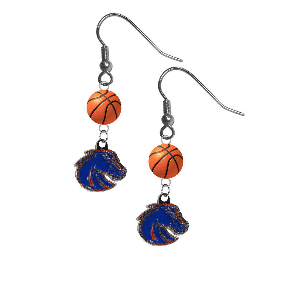 Boise State Broncos Style 2 NCAA Basketball Dangle Earrings