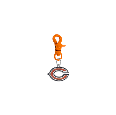 Chicago Bears NFL COLOR EDITION Orange Pet Tag Collar Charm