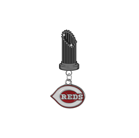 Cincinnati Reds MLB World Series Trophy Lapel Pin