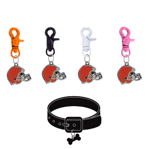 Cleveland Browns NFL COLOR EDITION Pet Tag Collar Charm