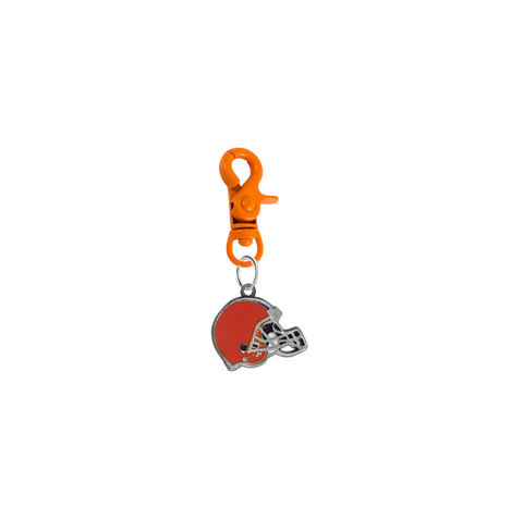 Cleveland Browns NFL COLOR EDITION Orange Pet Tag Collar Charm