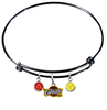 Cleveland Cavaliers BLACK Color Edition Expandable Wire Bangle Charm Bracelet