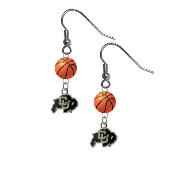 Colorado Buffaloes NCAA Basketball Dangle Earrings