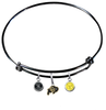 Colorado Buffaloes Black Expandable Wire Bangle Charm Bracelet