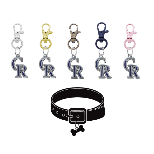 Colorado Rockies MLB Pet Tag Dog Cat Collar Charm