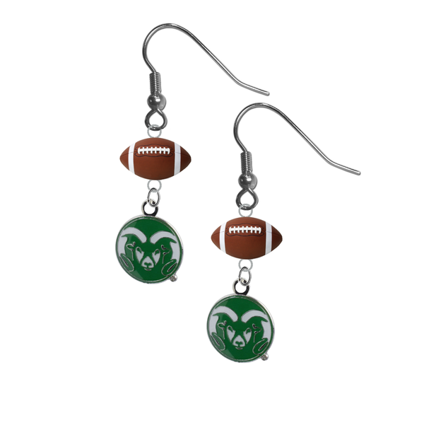 Colorado State Rams NCAA Football Dangle Earrings