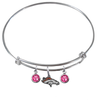 Denver Broncos NFL Expandable Wire Bangle Charm Bracelet