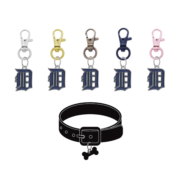 Detroit Tigers MLB Pet Tag Dog Cat Collar Charm