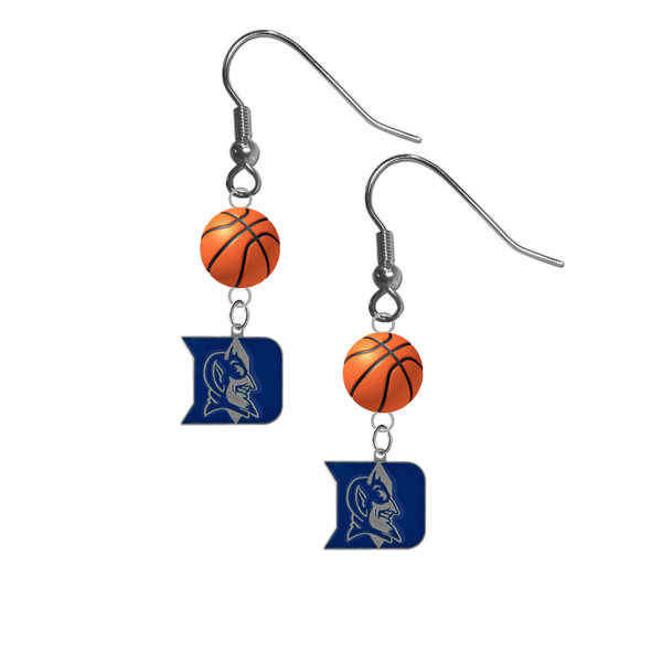 Duke Blue Devils NCAA Basketball Dangle Earrings
