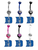 Duke Blue Devils NCAA College Belly Button Navel Ring - Pick Your Color
