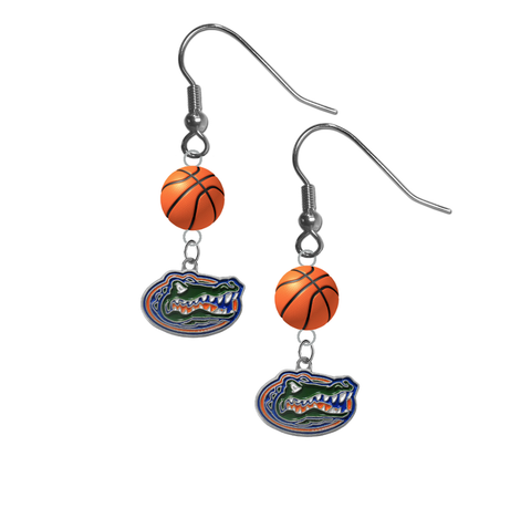 Florida Gators NCAA Basketball Dangle Earrings