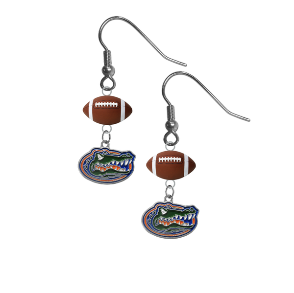 Florida Gators NCAA Football Dangle Earrings