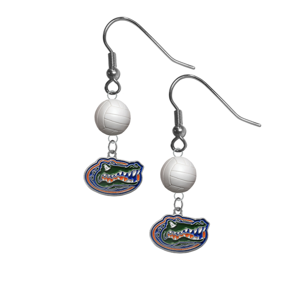 Florida Gators NCAA Volleyball Softball Dangle Earrings