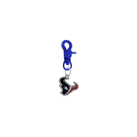 Houston Texans NFL COLOR EDITION Blue Pet Tag Dog Cat Collar Charm