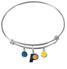 Indiana Pacers NBA Expandable Wire Bangle Charm Bracelet