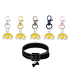 Iowa Hawkeyes 2 NCAA Pet Tag Dog Cat Collar Charm