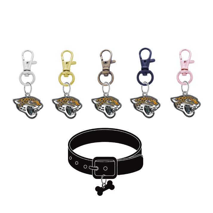 Jacksonville Jaguars NFL Pet Tag Dog Cat Collar Charm