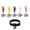 Kansas City Chiefs NFL COLOR EDITION Pet Tag Collar Charm
