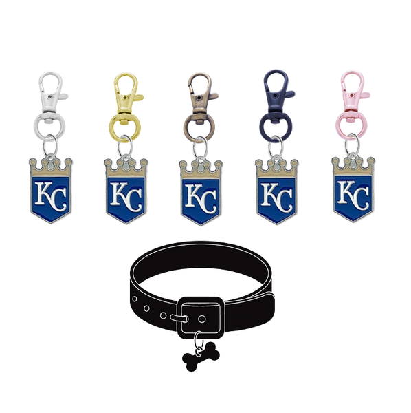 Kansas City Royals MLB Pet Tag Dog Cat Collar Charm