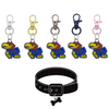 Kansas Jayhawks NCAA Pet Tag Dog Cat Collar Charm
