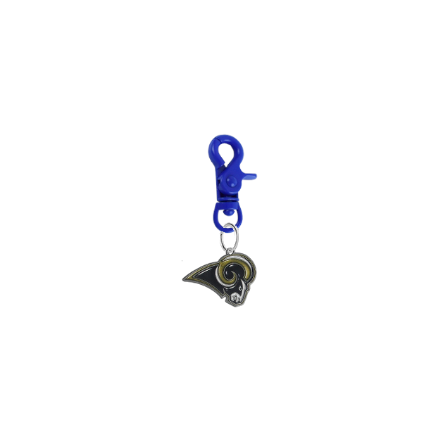 Los Angeles Rams NFL COLOR EDITION Blue Pet Tag Collar Charm