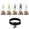 LSU Tigers 3 NCAA Pet Tag Dog Cat Collar Charm