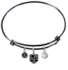 Los Angeles Kings Color Edition NHL Expandable Wire Bangle Charm Bracelet
